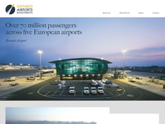 responsive design, media queries & mobile development for 5 major airports